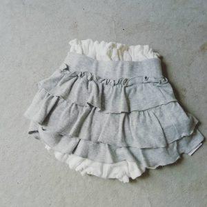 ミニスカート×かぼちゃパンツ